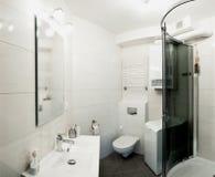 卫生间室内设计 免版税库存图片
