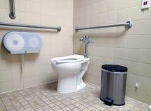 卫生间有残障现代 免版税库存照片