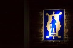 卫生间标志 免版税图库摄影