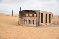 卫生间沙漠Wahiba阿曼 库存照片