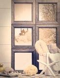 卫生间窗口 免版税图库摄影