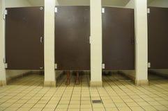 卫生间英尺 免版税库存图片
