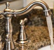 卫生间连续水槽 免版税库存图片