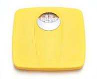 卫生间重量标度 免版税库存图片