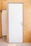 卫生间门 库存图片