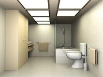 卫生间 免版税图库摄影