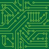 印制电路纹理 免版税库存图片