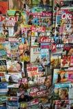 印刷品杂志封面 免版税库存照片