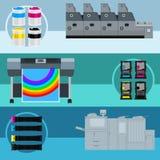 印刷品设备 免版税库存照片
