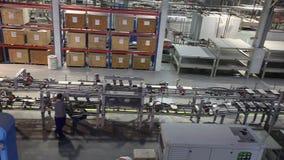 印刷品仿造了陶瓷砖,在陶瓷砖的样式 工业内部, indors 股票录像