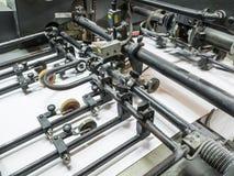 印刷机机器 免版税库存照片