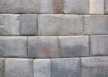 印加人墙壁在库斯科省 库存图片