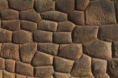 印加人墙壁 图库摄影