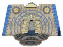 印加人寺庙 库存图片