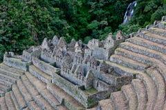印加人废墟 免版税库存照片
