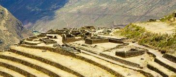 印加人废墟 库存图片