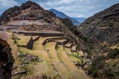 印加人废墟 免版税库存图片