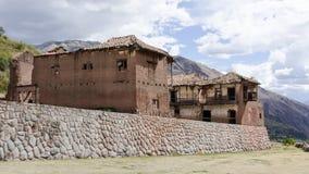 印加人废墟Tarahuasi II -秘鲁 库存图片