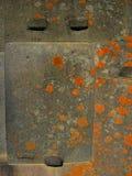 印加人秘鲁墙壁 库存照片