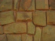 印加人秘鲁墙壁 库存图片