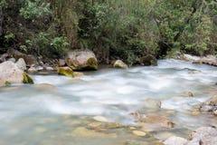 印加人足迹水路  免版税库存图片