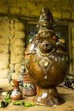 印加人水花瓶 免版税库存图片