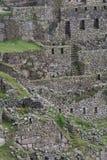 印加人machu picchu废墟 免版税库存照片