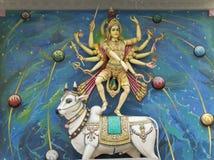 印地安上帝雕象 免版税库存照片