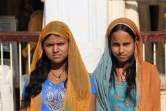 印地安人二妇女 免版税库存图片