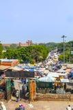 印地安人交易和购买在 免版税图库摄影