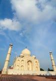印地安人参观泰姬陵 图库摄影