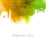 印地安人的美国独立日创造性的例证 免版税库存图片