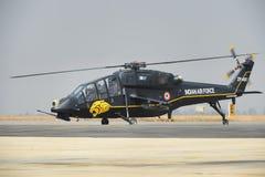 印地安人空军队光战斗直升机 免版税库存照片