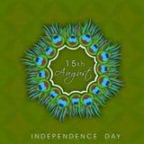 印地安人美国独立日。 库存照片