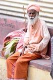 印地安人Sadhu 库存照片