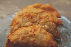 印地安传统甜点 库存照片