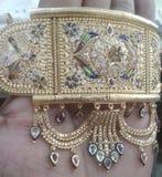 印地安传统首饰 库存照片