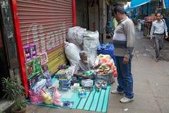 印地安供营商,加尔各答,印度 免版税库存照片