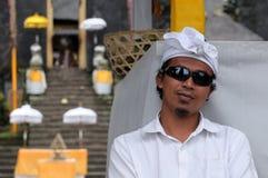 印地安信念的年轻印度尼西亚语 图库摄影
