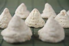 印地安做的Tuticorin蛋白杏仁饼干 库存图片