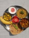 印地安健康食物 图库摄影