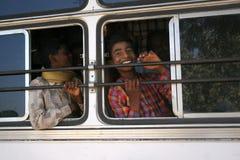 印地安公共汽车 免版税库存照片