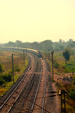 印地安公开铁路 免版税图库摄影