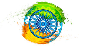 印地安共和国的背景印地安共和国美国独立日庆祝的 免版税库存图片