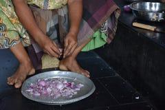 印地安厨房 免版税库存照片