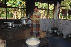 印地安厨房 库存图片