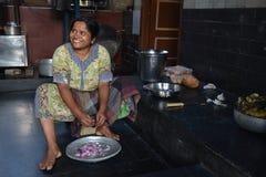 印地安厨房 免版税库存图片