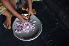 印地安厨房 图库摄影