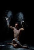 印地安古典舞蹈 免版税图库摄影