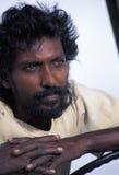 印地安后裔,特立尼达 免版税库存图片